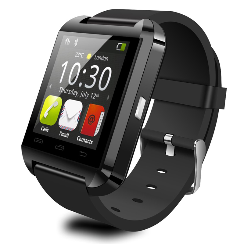 New Smart U Watch Bluetooth Smartwatch U8 Touch Panel Smart Watch Phone Android Support Thermometer IOS