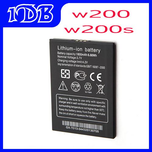1800mAh Original Battery ThL W200S W200 Smartphone