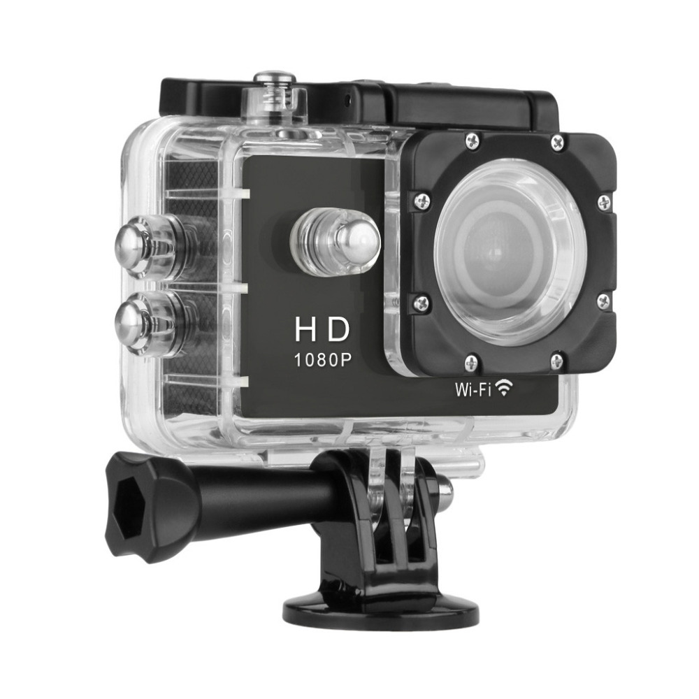 Excelvan Sports Camera With WIFI Full HD Y8 30M Waterproof Camera H264 1080p 12Mp Video DV Action Camera(China (Mainland))