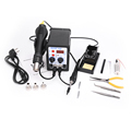 YOUYUE 8586 2 In 1 ESD Hot Air Gun Soldering Station Welding Solder Iron For IC