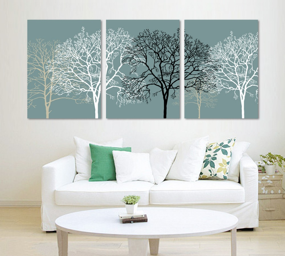 3 Pieces Wall Art Picture Wall Picture Home Decor 2colors all we love white and black for u picture on the wall Modern Picture(China (Mainland))