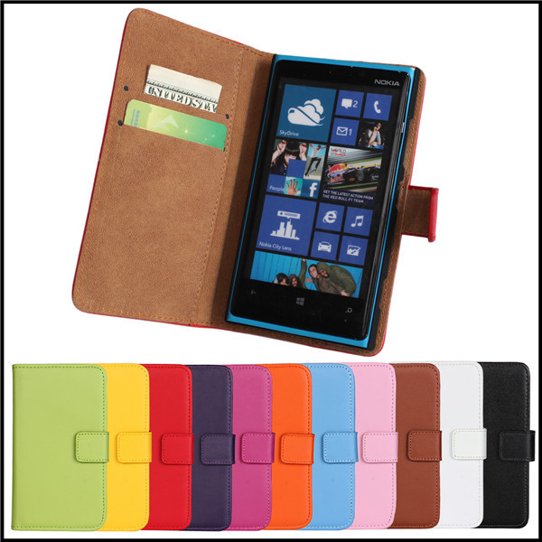 Flip Leather Cover For Nokia Lumia 920 Case Wallet Stand Card Slot Mobile Phone Accessory Bag Cover Case For Nokia Lumia 920(China (Mainland))