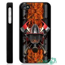 Fit for Samsung Galaxy mini S3/4/5/6/7 edge plus+ Note2/3/4/5 back skins cellphone case cover Firefighter Auto Accessories Logo