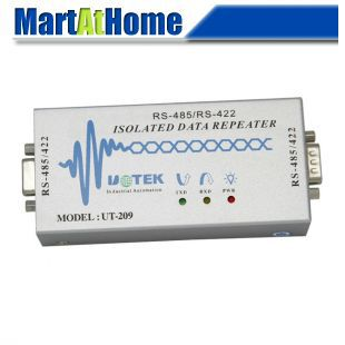 Фотография Free Shipping Industrial RS485/RS422 DB9 Photoelectric Data Repeater Converter Booster Isolator #BV271 @CF