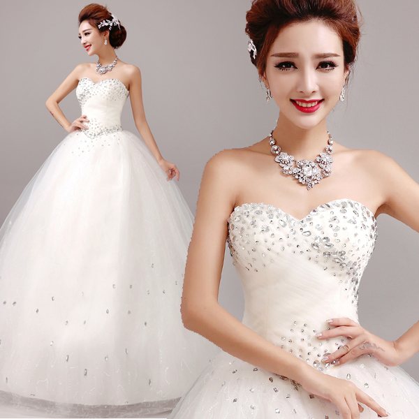 Z 2015 New Stock Plus Size Women Pregnant Bridal Gown