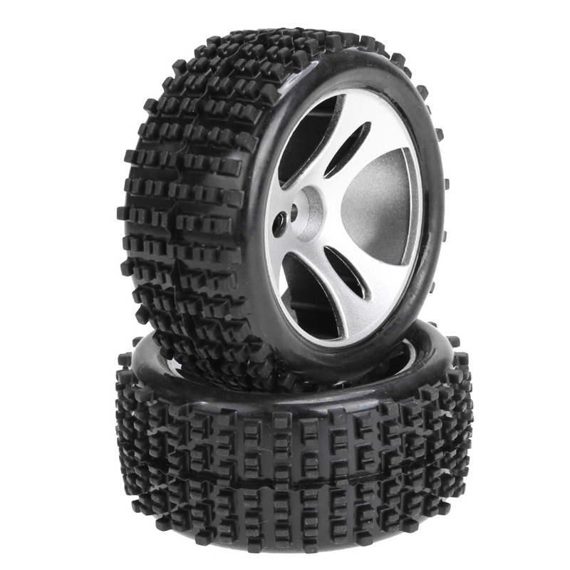 2PCS/set Rubber Tires Remote Control Road Cars Wheels For Wltoys A959 RC Car Spare Parts(China (Mainland))