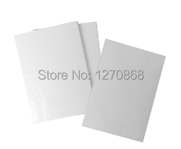 90g A4 super adhesive photo paper sticker 50 sheets one lot(China (Mainland))