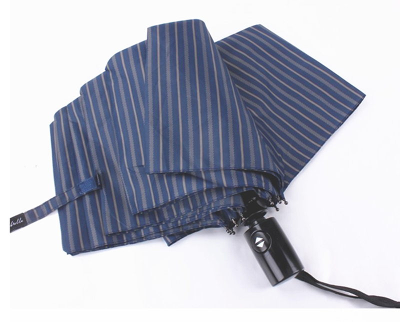 Windproof Design Men Brand Female Large Striped Quality Umbrella Big XuiPkZ