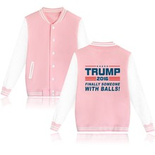 Buy Donald Trump Fashion Jacket Women Black USA Presidential Make America Great Clothes Women Coat for $10.29 in AliExpress store