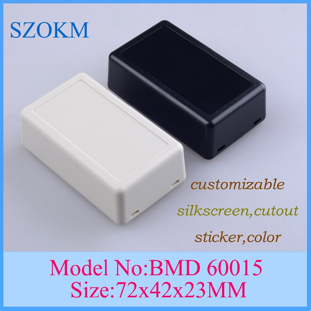 10 pcs/lot residential electrical boxes standard electrical junction box sizes electrical connection box 72x42x23 mm(China (Mainland))