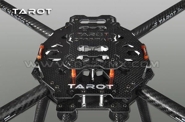 Tarot 650 Carbon Fiber 4 Axle Aircraft Fully Folding FPV Quadcopter Frame Kit TL65B01 F05548