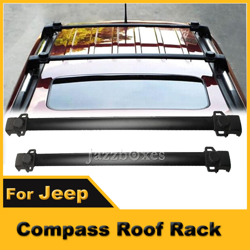 Flexible Aluminum Roof Rack Cross Bar Luggage Cargo Carrier 150LBS For JEEP Compass 2011 2012 2013 2014(China (Mainland))