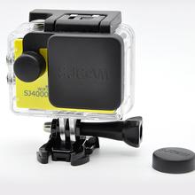 sjcam sj4000 lens cover cap and hood compatible sjcam sj4000 lens protector for camera sjcam sport camara for sj4000(China (Mainland))