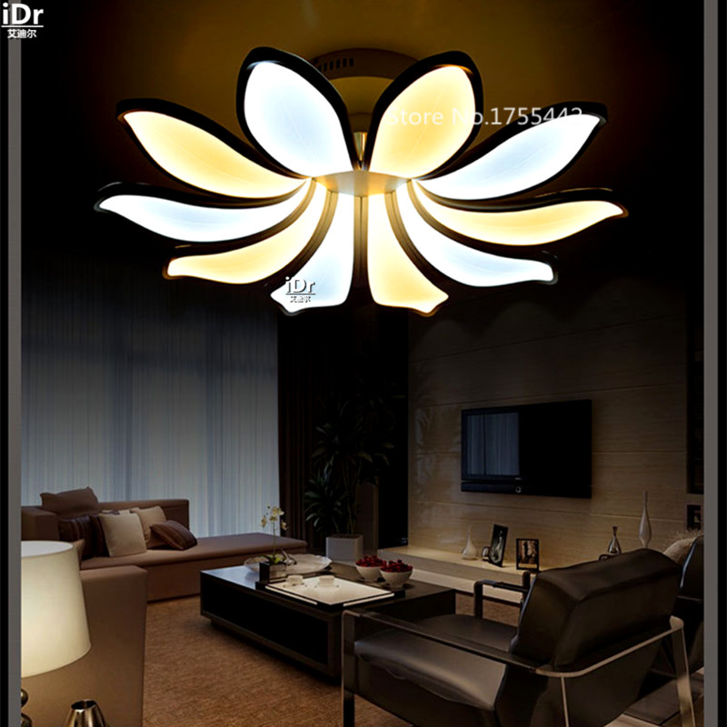 High-end European-style living room dining bedroom individuality petals circular creative Classical Ceiling Lights(China (Mainland))