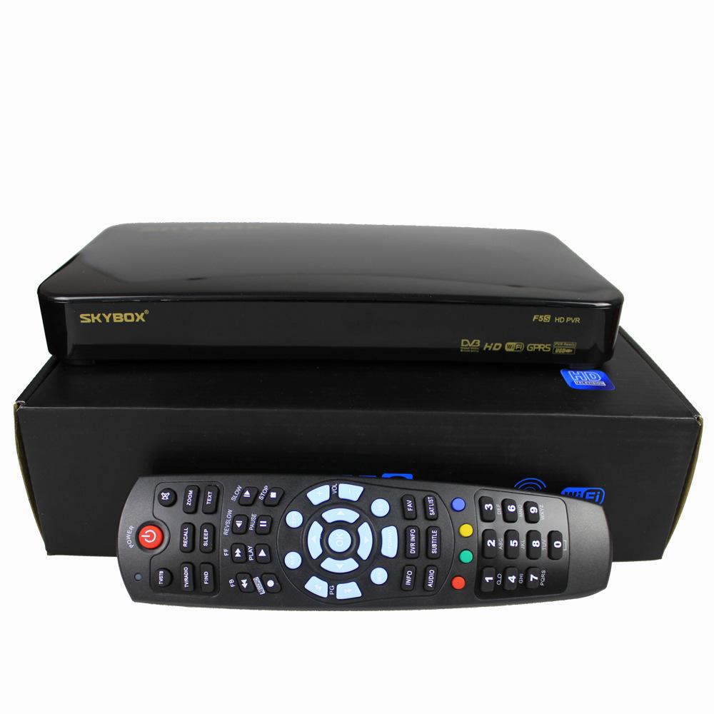 NEW Original Skybox F5s HD full 1080p satellite Smart Internet TV receiver Box Device Support usb wifi TVBOX(China (Mainland))