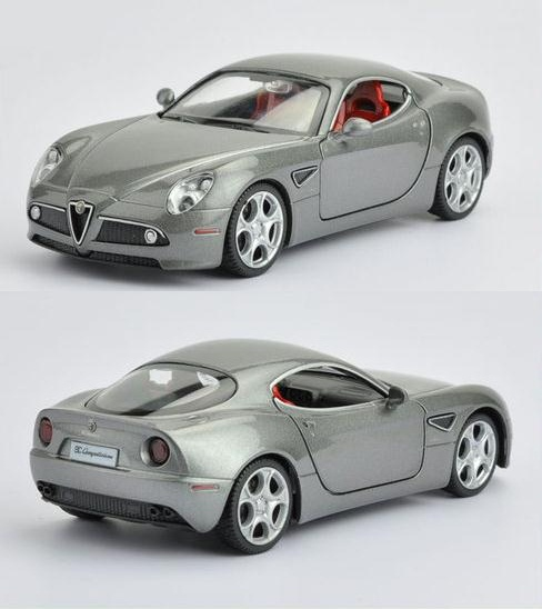 1:32 High Simulation Exquisite Collection Toys Car Styling ALFA ROMEO 8C Model Alloy Supercar Model The Fast and the Furious(China (Mainland))