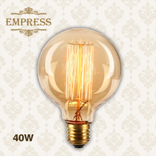 Buy G125 G95 G80 edison bulb 110/220V dimmable ampoule Vintage Light Blub Lampada Light Incandescent Filament Bulb Retro edison Lamp for $2.86 in AliExpress store
