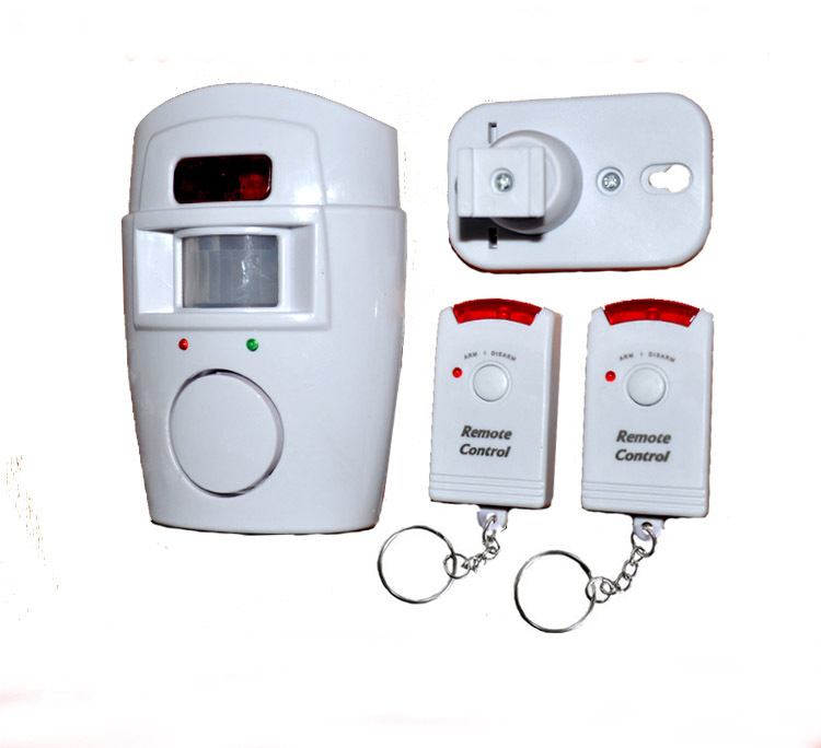 Hot selling Wireless IR Infrared Motion Sensor Alarm Security Detector Home System 2 Remote Control HT8963 - D&H International Co., Ltd. store