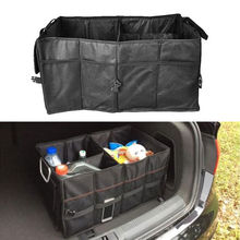 Multi-purpose Car Rear Trunk SUV Cargo Organizer Foldable Storage Box Bag Pouch Tool Case(China (Mainland))