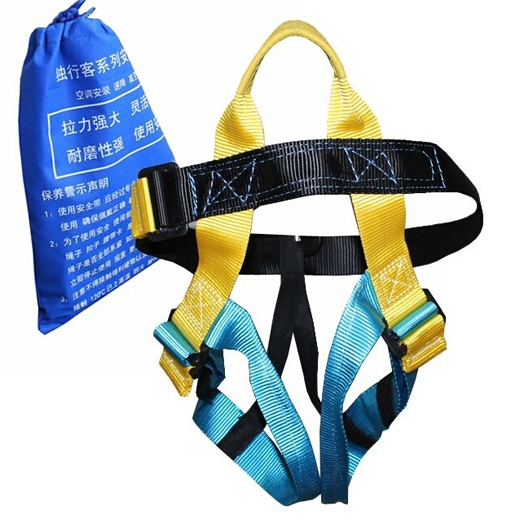 Гаджет  High quality climbing rock safety belt three-point half-length harness outdoor seat belt None Спорт и развлечения