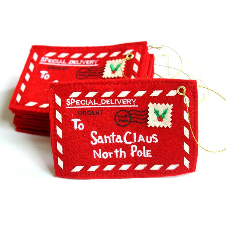 Christmas Tree Envelopes Candy Gift Bag Decorations Ornament Home Da Decoracao De Natal Adornos Navidad - Laimi Festival store