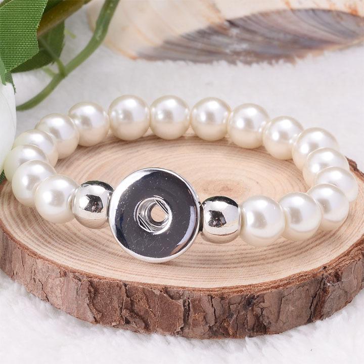 Браслет с брелоками DIY 1 round snap charm bracelet браслет с брелоками wonderland beaded charm bracelet