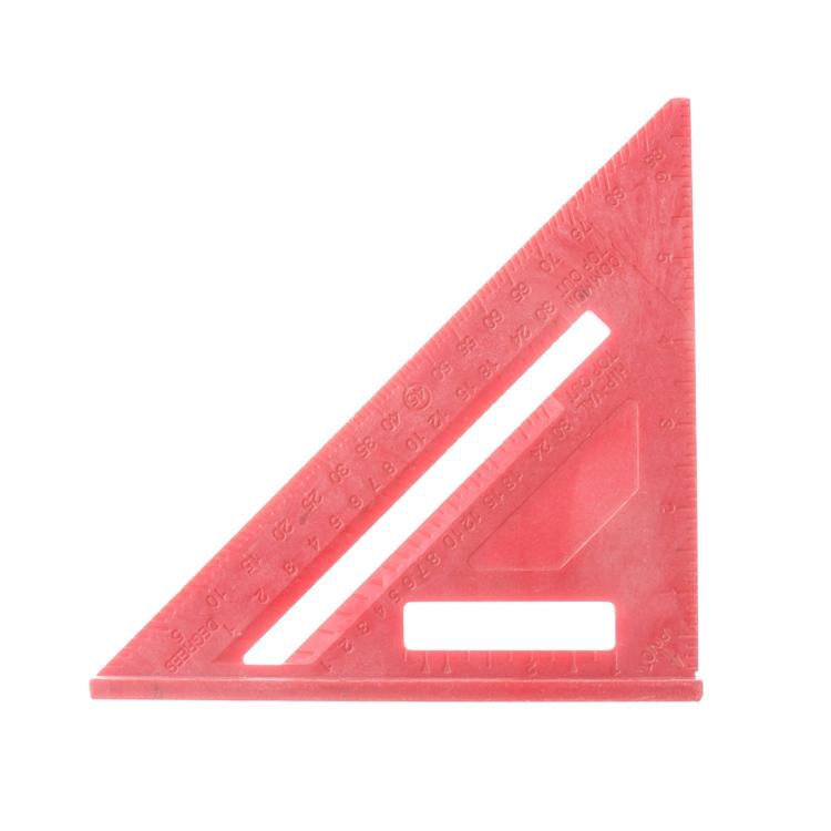 "7"" Speed Rafter Square ruler, Lightweight Ergocast Material(China (Mainland))"
