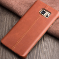 2015 QIALINO New Arrival Phone case for Samsung Galaxy Note5 Elegant Styles Caif Skin Genuine Leather