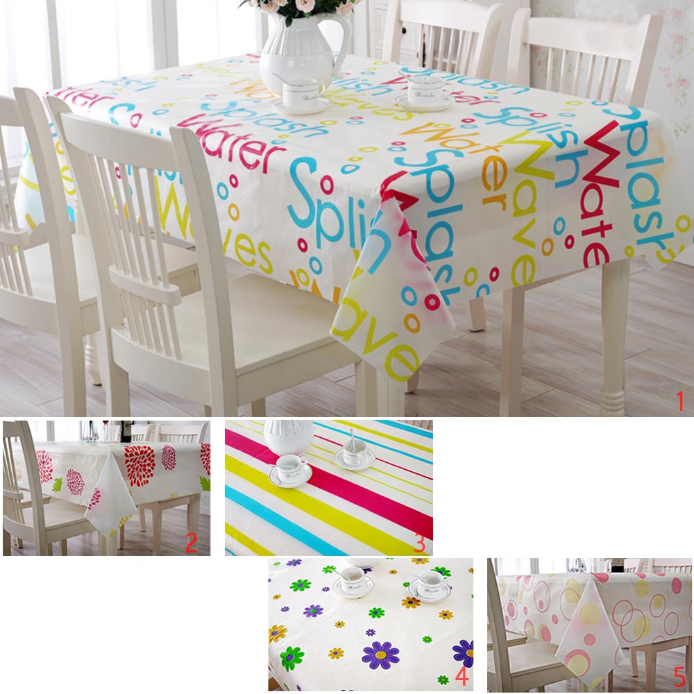 Home Kitchen Outdoor Picnic Folding PVC Waterproof Anti-oil Tablecloth Table Mat(China (Mainland))