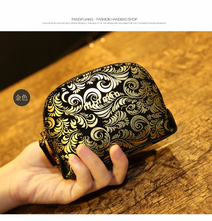 Female coin purse women lady  Leather Card Holder Mini Wallet Clutch (2)