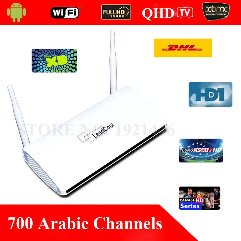 QHDTV Arabic font b IPTV b font Box 700 Arabic Channels Box Office HD Movies Sky
