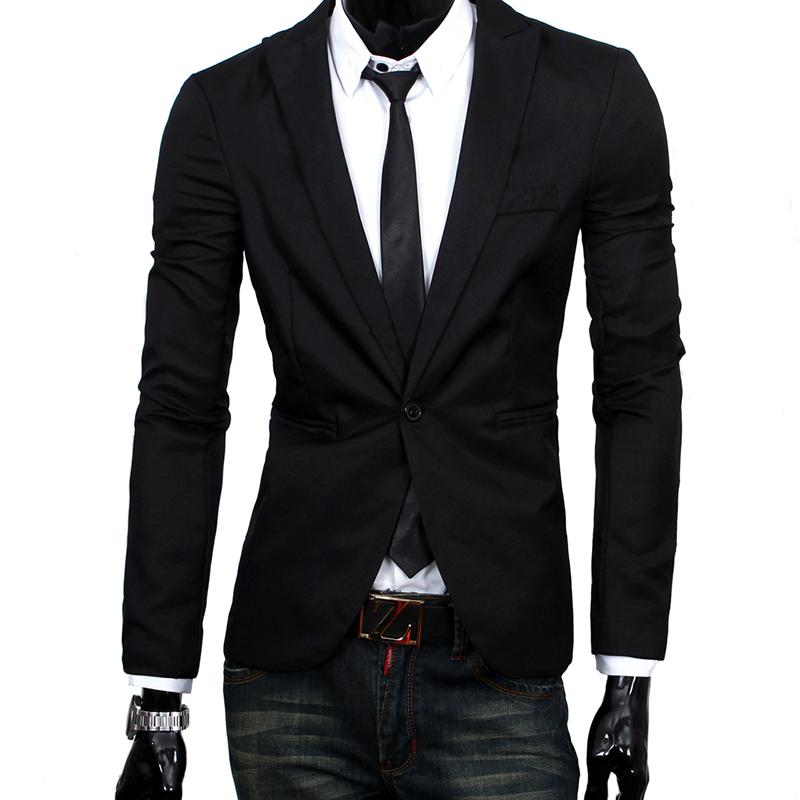 New Arrival Homens Blazer Um Botão Blazer Masculino Casual Jacket Slim Fit 4 Cores Ternos Jaquetas H5070(China (Mainland))