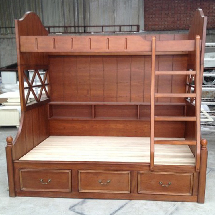 Supply Wood Bed Children 39 S Bunk Beds Pure American Country Pine Bunk Bed Ladder Cabinet Level