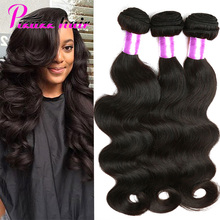 "Peruvian Virgin Hair Body Wave 3 Bundles Unprocessed Virgin Peruvian Body Wave Hair 8""-28″ Grade 8A Peruvian Human Hair Bundles"