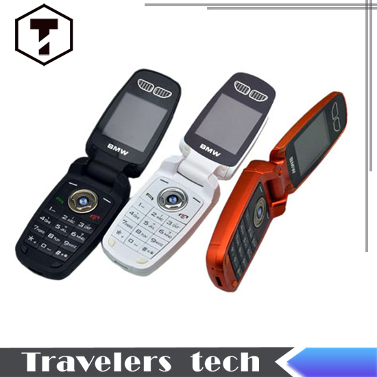 B M W X6+ Small Size car key Mobile phone car style X6 flip Phone with 3 Colors Option and Good Price(China (Mainland))