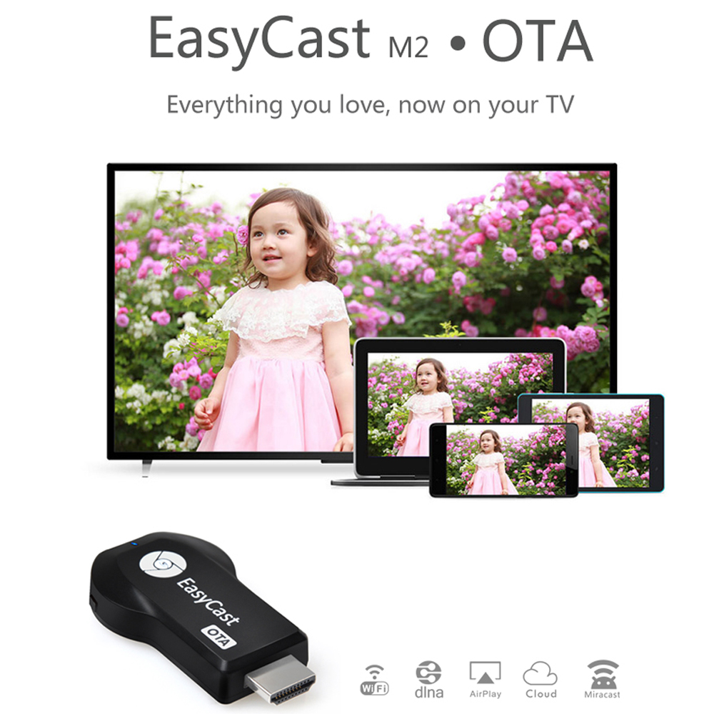 Eazycast OTA Wifi Display Receiver TV Stick Miracast AirPlay Dongle Airmirroring HDMI Projection for ios android AH095(China (Mainland))