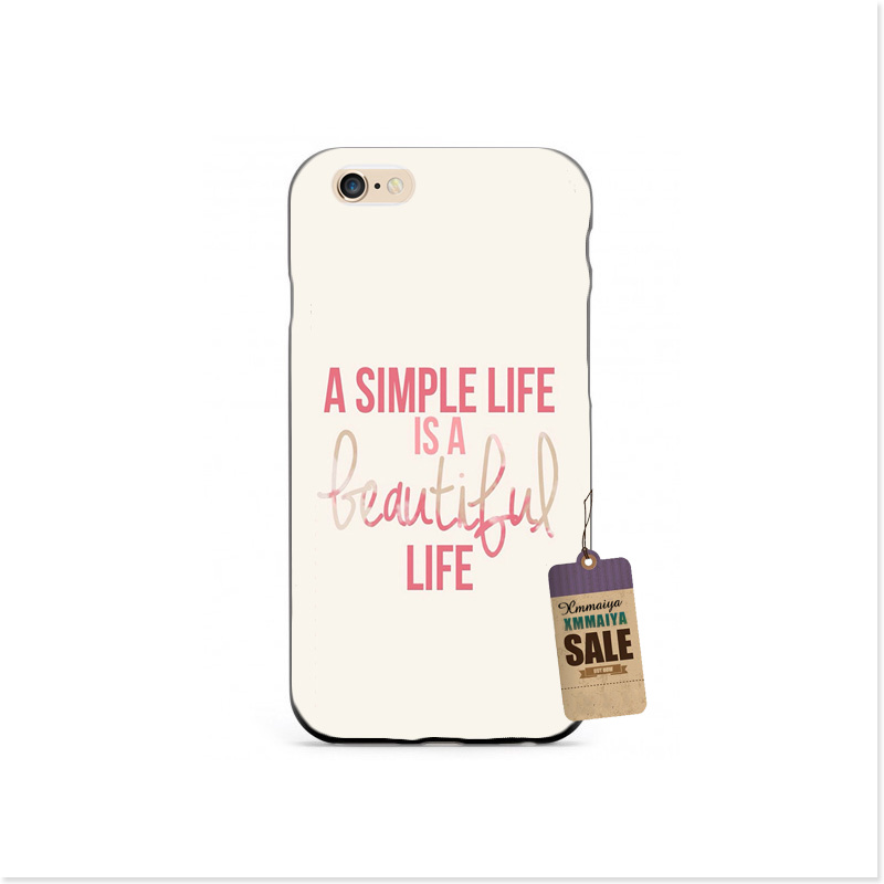 Today Is A Perfect Day To The Happy Luxury Accessories Shell Original Cover For iphone4 5s 6s 6plus Brand Mobile Phone Cases