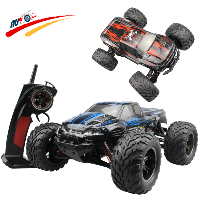 RC Car 40km/h 2.4G High Speed Racing Full Proportion Monster Truck Off road Car Big Foot RC 2WD Buggy Model Vehicle Toy(China (Mainland))