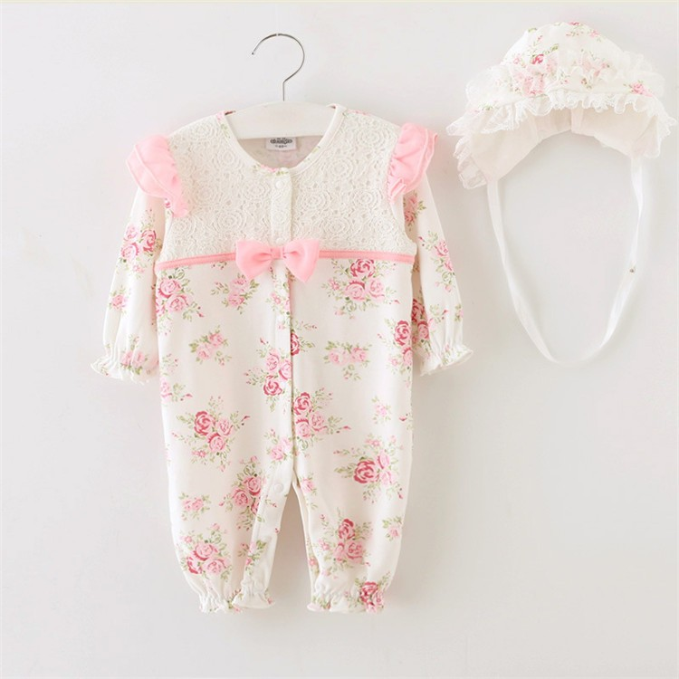 Cute Baby Girl Rompers