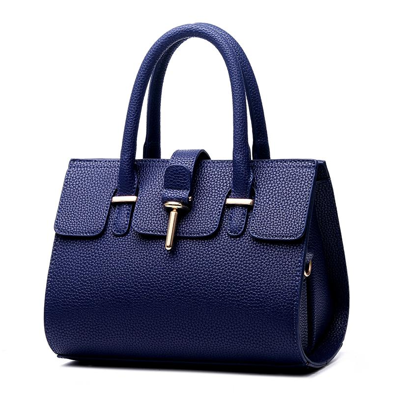 New bags of Women stereotypes of atmospheric fashion PU Leather handbags Messenger Crossbody Shoulder bag(China (Mainland))