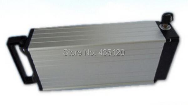 48V 9Ah Li-ion E-Bike Battery Lithium Electric Bike Akku Pack Rear Rack Rechargeable Batteries(China (Mainland))