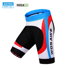 Buy WOSAWE High Elasticity Quick-Dry MTB Mountain Road Bike Tights Clothing GEL Padded 4D Gel Padded Bicycle Cycling Shorts Men for $17.50 in AliExpress store