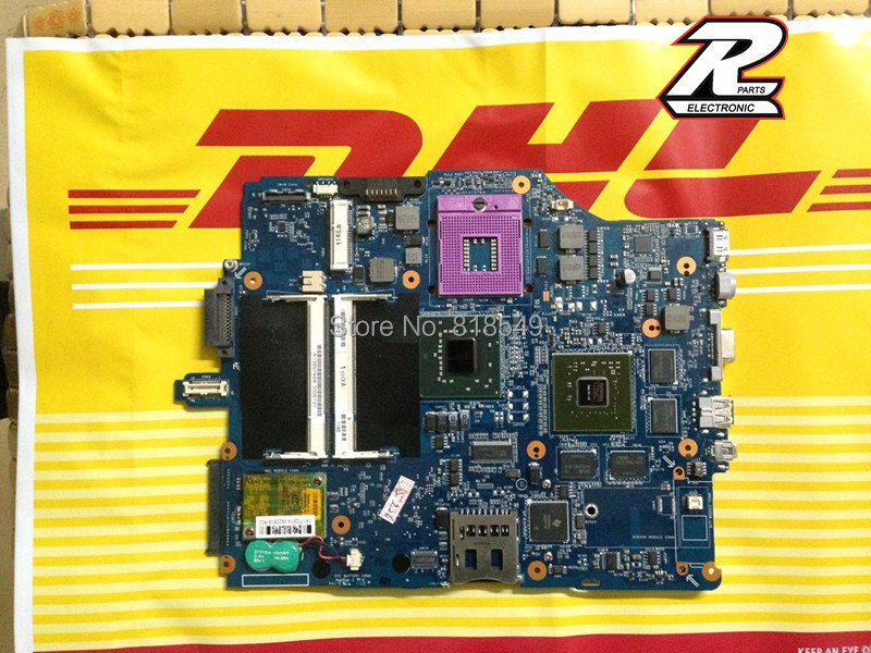 For Sony VGN-FZ A1512274A MBX-165 MS92 notebook PC motherboard 100% tested working Physical photos(China (Mainland))