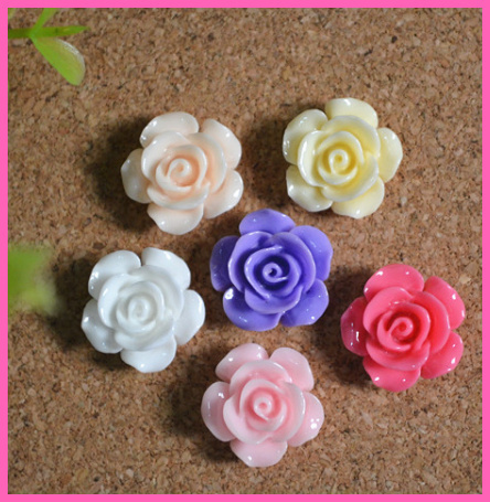 50pcs/lot,Mixed flatback flower Cabochon holiday Flat Back resin Beads resin jewelry real flowers diy phone decoration