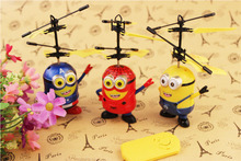 New Remote Control RC Helicopter Flying Minion/Captain America/ Spiderman Quadcopter Drone Ar.drone Kids Toy Fairy Doll(China (Mainland))