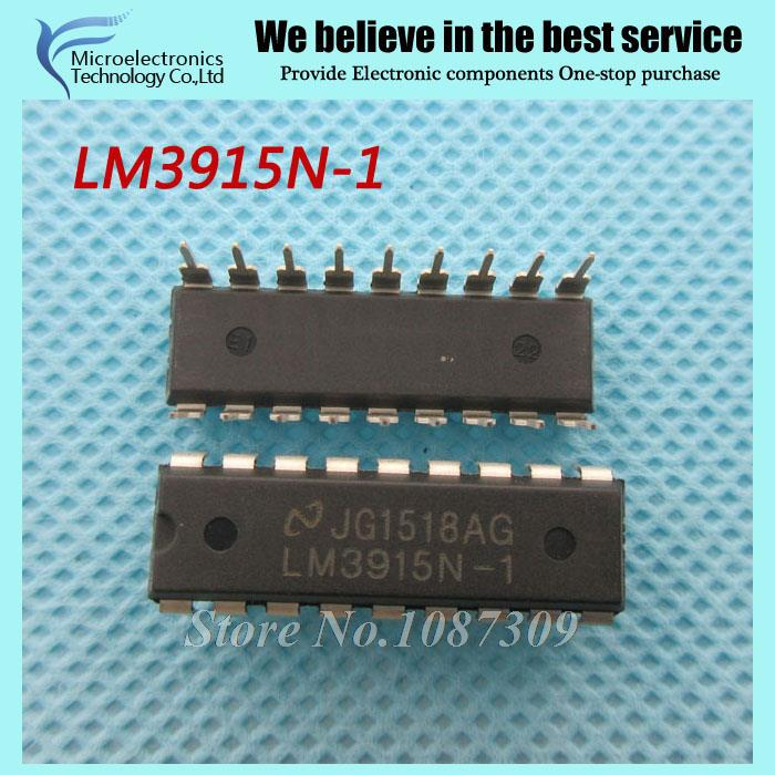 50pcs free shipping LM3915N-1 LM3915N LM3915 DIP-18 LED Lighting Drivers DOT/BAR DISPLAY DRVR new original(China (Mainland))