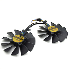 Buy New 95MM FD10015H12S 0.55A 4PIN 5Pin Cooler Fan GTX 970 980 TI R9 380 Graphics Video Card Cooler Fan for $49.88 in AliExpress store