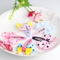 Hot sale Sold By Pair Baby Bow Hairpins Girls Hair Accessories Children Ribbon Bow Accessories Baby