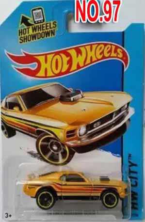 2015 Hot Wheels Mustang MACH 1 models alloy car model toy 97 Free shipping(China (Mainland))