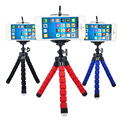 Flexible Holder Octopus Tripod Bracket Stand Mount Monopod Digital Camera for Gopro Hero 3 4 for